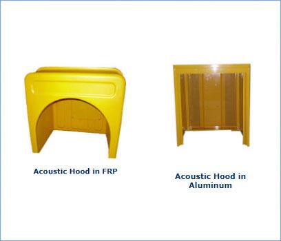 Acuustic Hood, Frp Acuustic Hood, Aluminium Acuustic Hood
